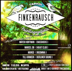 FINKENRAUSCH -FRÜHLINGSGEFÜHLE- IM CAPITOL FALKENSEE - FINKENKRUG