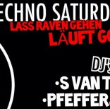 Pfeffer & Minze Techno Saturday @Tribehouse