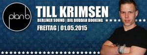 Till Krimsen (Berliner Sound) im Plan b @Innsbruck