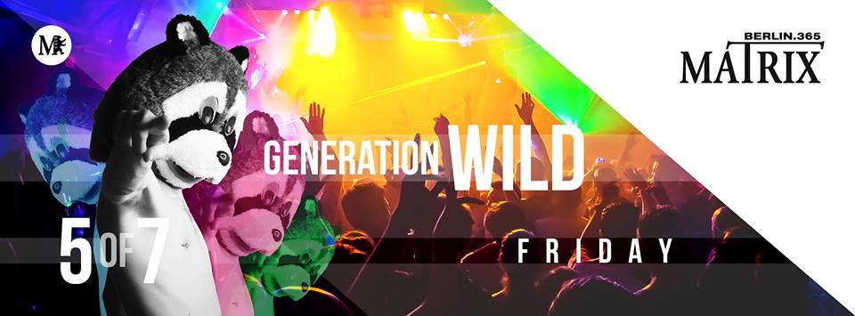 Berliner Sound DJ Munso bei Generation Wild im Matrix Club Berlin