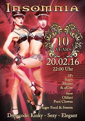 Berliner Sound DJ Munso bei 10 Jahre Insomnia @Insomnia Club