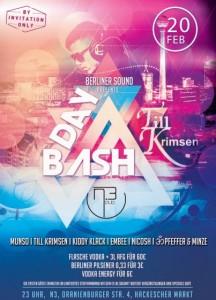 Till Krimsen BDAY BASH im N3 Club mit Munso, Pfeffer & Minze vom Berliner Sound