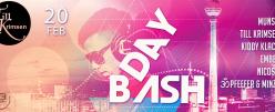 Till Krimsen BDAY BASH mit Munso, Pfeffer & Minze @N3 Club, Berlin