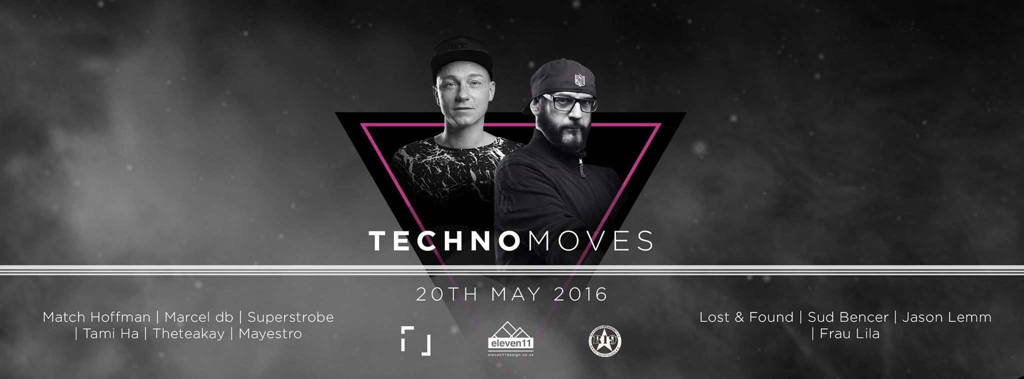 TECHNOMOVES mit Marcel db, Tami Ha & Jason Lemm im R19 Club Berlin