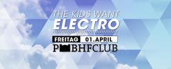 Tami Ha @The Kids Want Electro, Postbahnhof Berlin