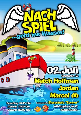 Marcel db live beim Nachspiel geht ins Wasser 2