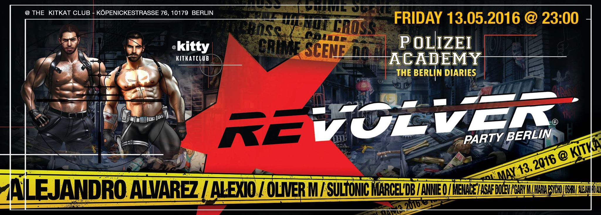 Revolver Party mit Marcel db im KitKat Club Berlin