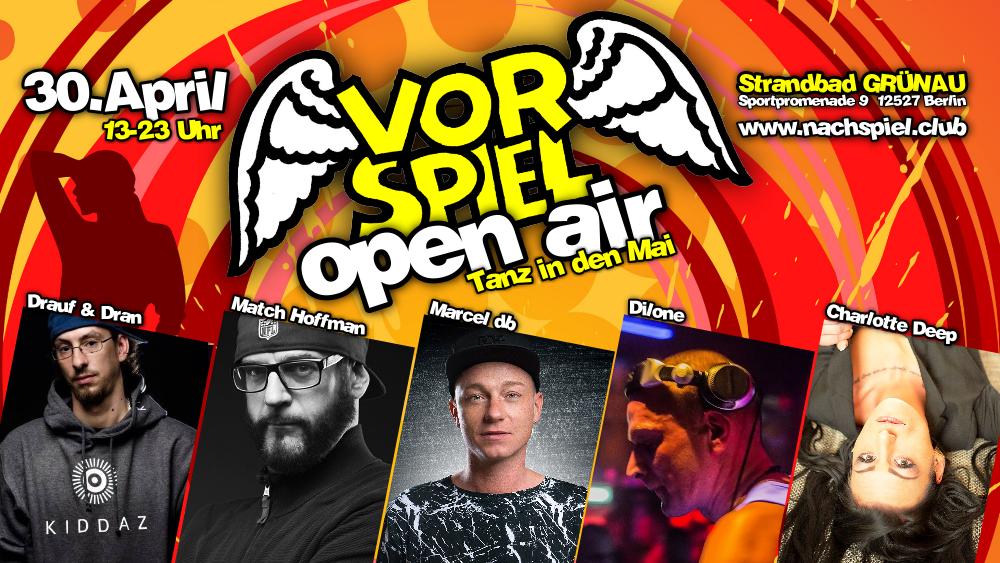 Vorspiel OpenAir mit Marcel db im Strandbad Grünau