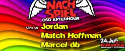 Marcel db @NachSpiel CSD AfterHour KitKat Club, Berlin