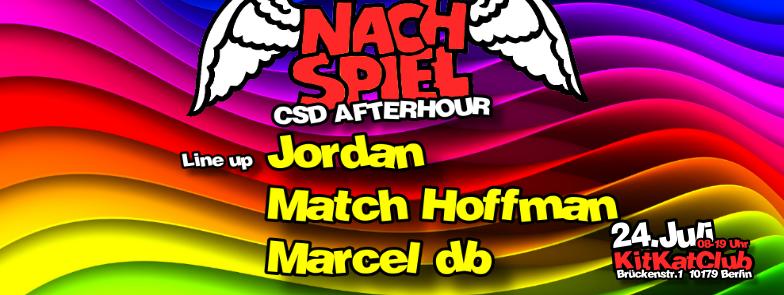 NachSpiel CSD AfterHour im KitKat Club Berlin mit Marcel db