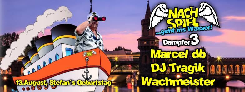 Marcel db live beim Nachspiel geht ins Wasser 3