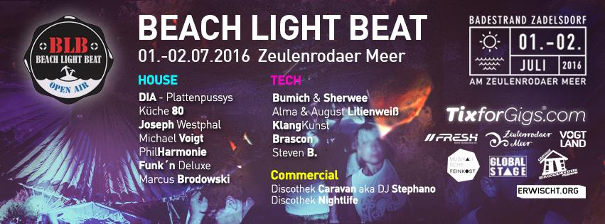 Beach Light Beat 2016 im Strandbad Zadelsdorf mit Sherwee