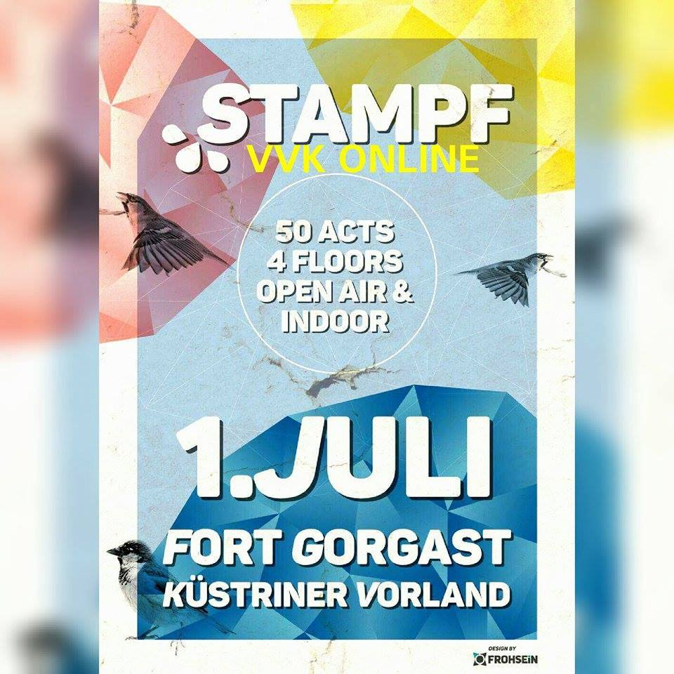 Till Krimsen und Jason Lemm bei  STAMPF @Fort Gorgast