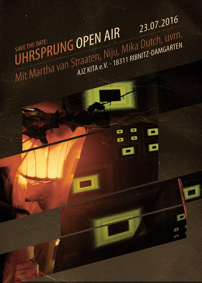 U(h)rsprung Open Air in Ribnitz-Damgarten mit Till Krimsen
