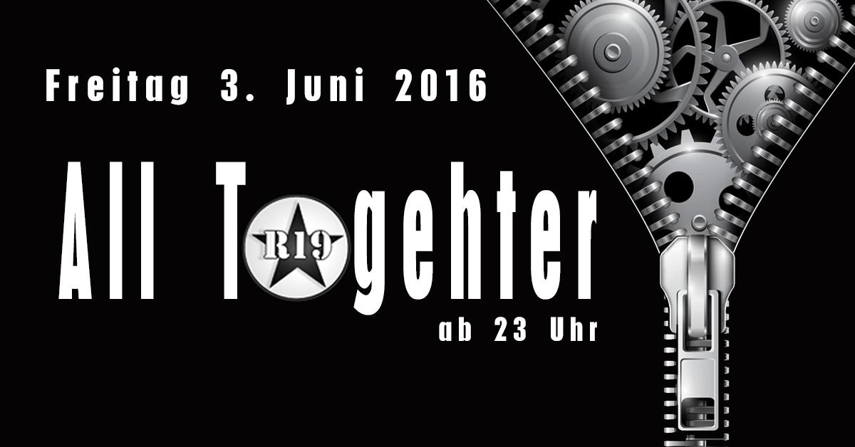 Marcel db live bei All Together  im R19 Club Berlin