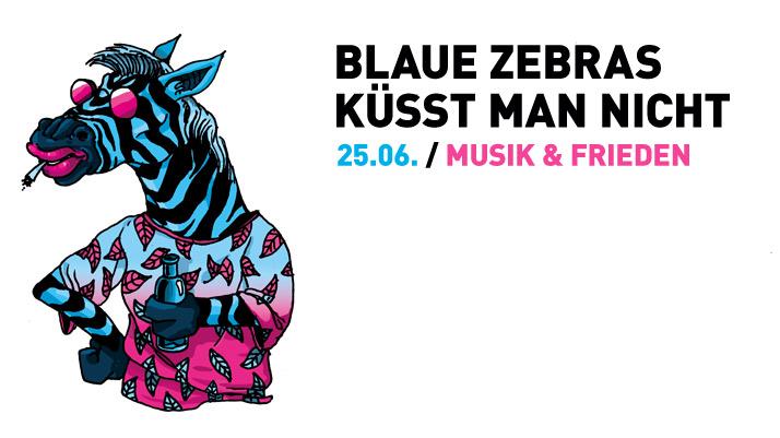 Marcel db @Blaue Zebras küsst man nicht... im Musik & Frieden in Berlin
