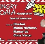 Marcel db @NachSpiel Hungry Koala Gastspiel