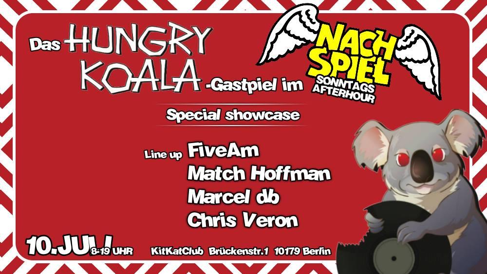 NachSpiel Hungry Koala Gastspiel im KitKat Club mit Marcel db