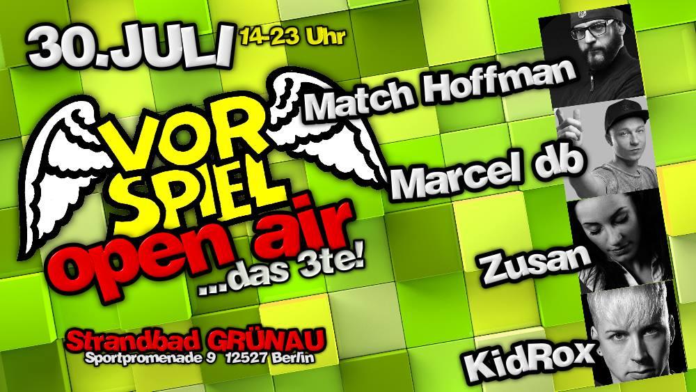 Marcel db live beim Vorspiel OpenAir das 3te