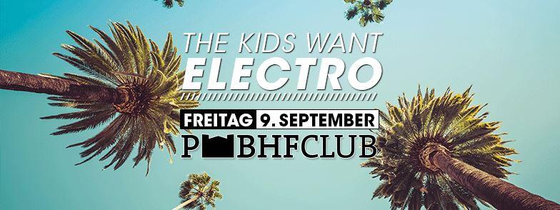 "Tami Ha bei ""The Kids Want Electro"" im Postnbahnhof Club, Berlin."
