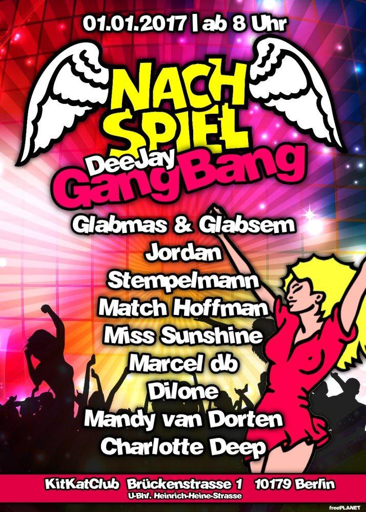 NachSpiel AfterHour im KitKat Club Berlin mit Marcel db