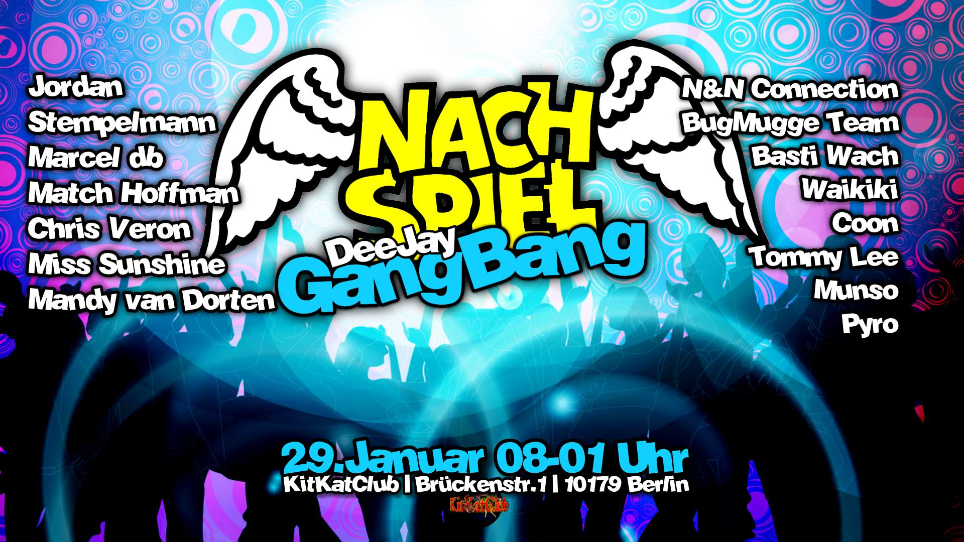 Marcel db & Munso live beim NachSpiel DeeJay GangBang