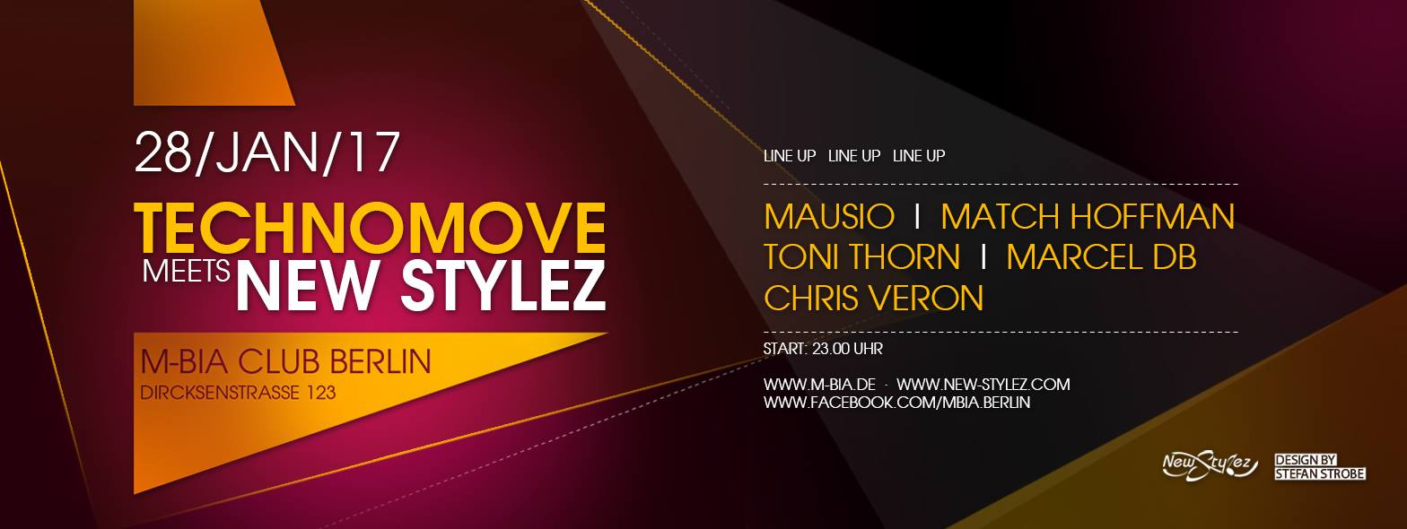 Marcel db live bei Technomove meets New Stylez