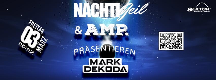 Mouthy Raw, Doublekick, Marcel db, Till Krimsen & Tami Ha live bei NachtiGeil in Düsseldorf mit Mark Dekoda