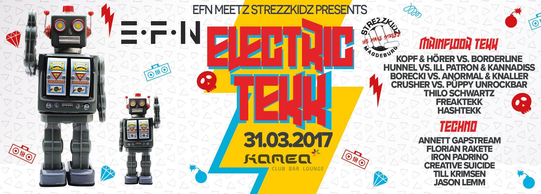 Till Krimsen @Electric Tekk by EFN in Frankfurt