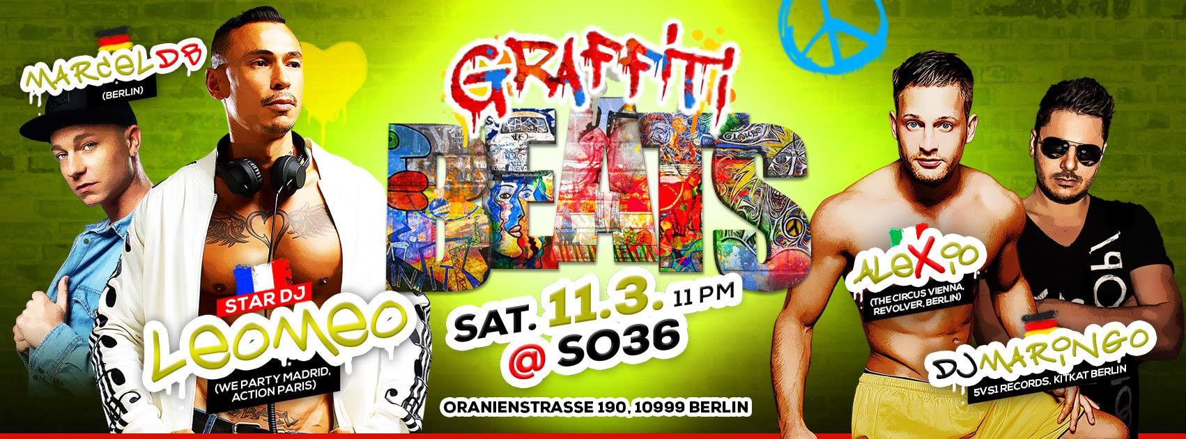 Marcel db live bei Graffiti Beats Berlin