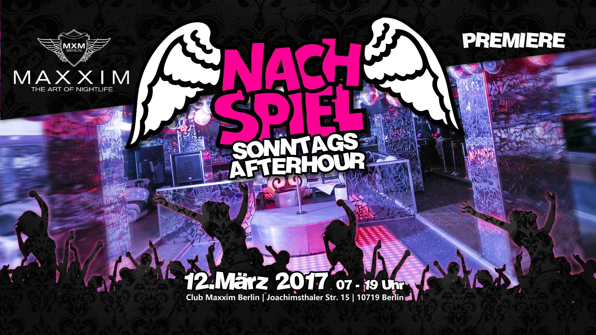 Marcel db live beim NachSpiel im Maxxim Berlin