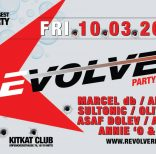 Marcel db @Revolver Party im KitKat Club