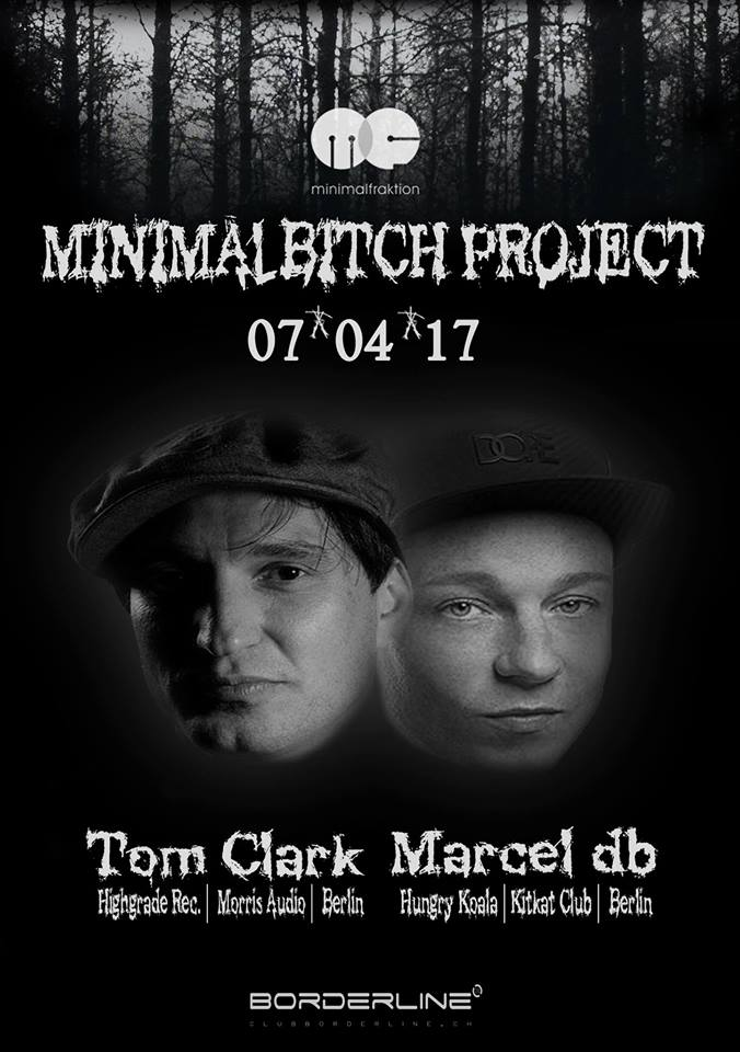 Marcel db live bei Minimal Bitch in Basel